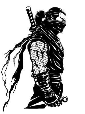 忍者の筋肉